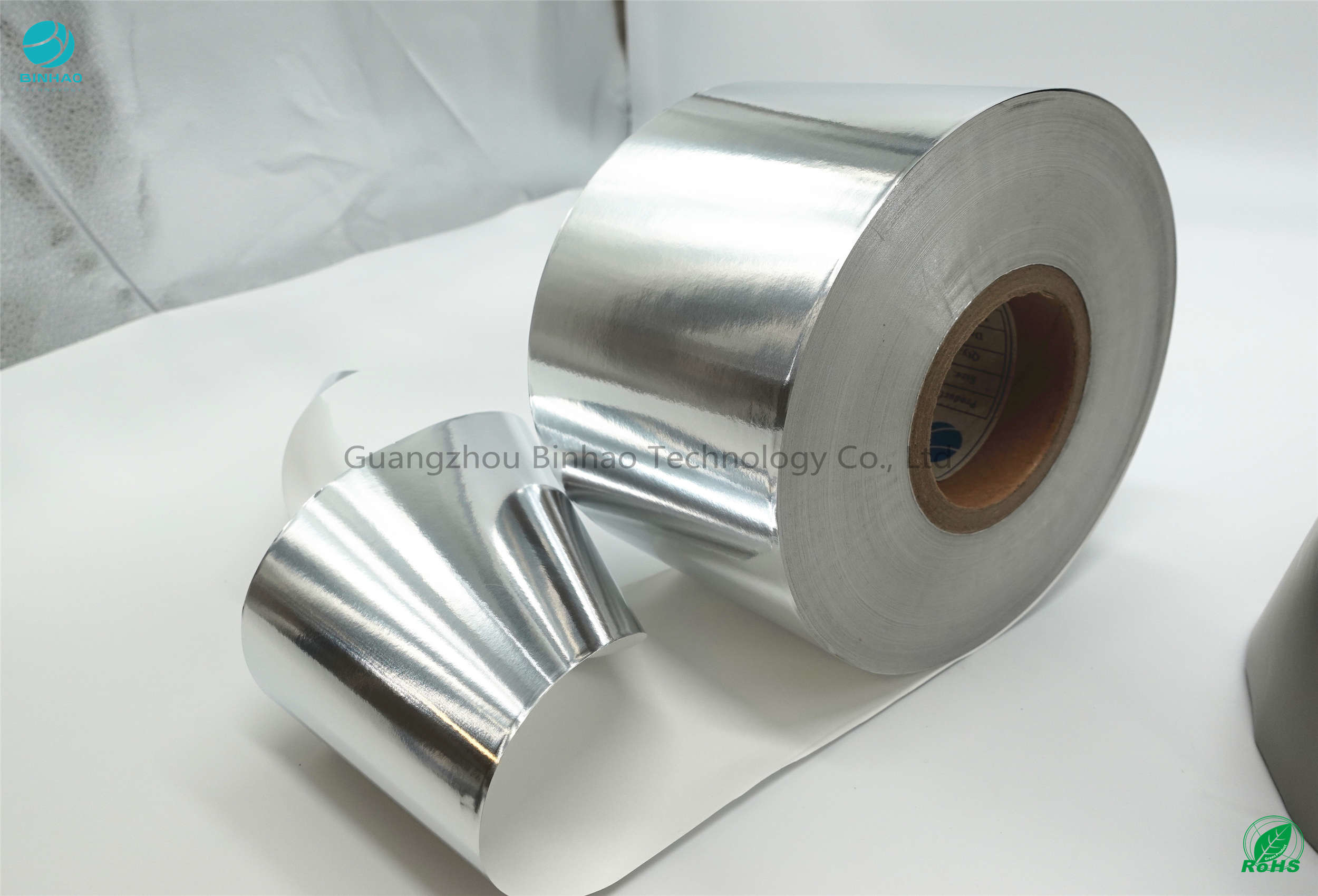 Printing Customized Silver 70gsm 83mm Cigarette Aluminium Foil Paper